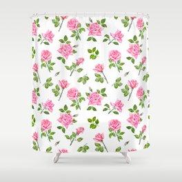 Romantic Roses Shower Curtain