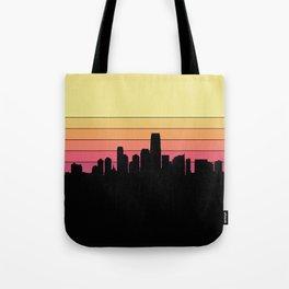 Jersey City Skyline Tote Bag