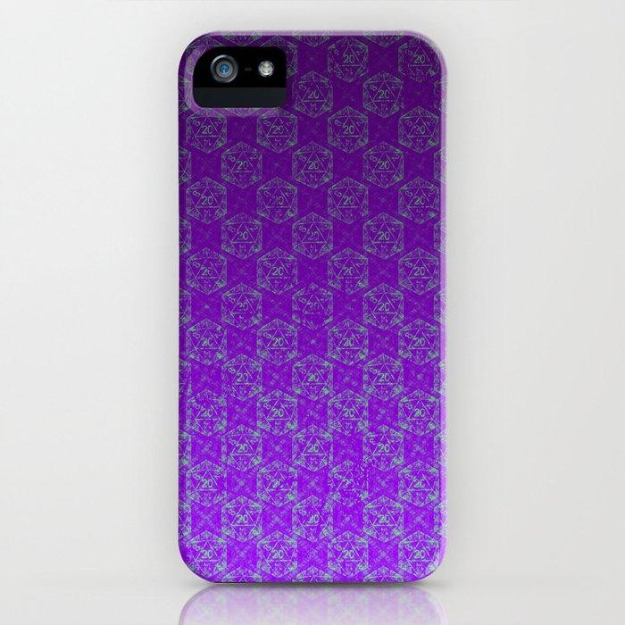 D20 Heathen Crit Pattern Premium iPhone Case