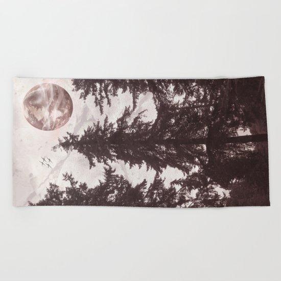 Woodland Echo Beach Towel
