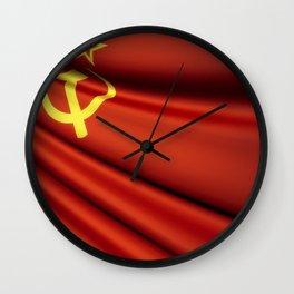 Flag of Soviet Union (1922-1991) Wall Clock