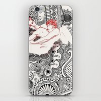 henna iPhone & iPod Skins featuring Henna Lovers by N.I.S.