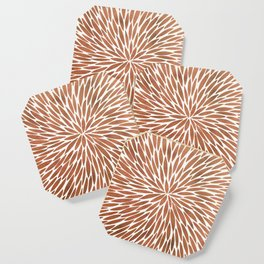 Rose Gold Burst Coaster