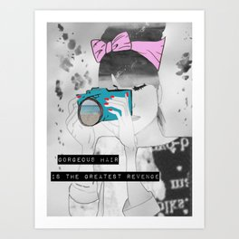 Blair Art Print