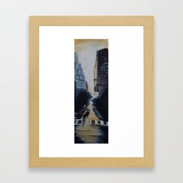 Someday We'll Just Drive... Framed Art Print
