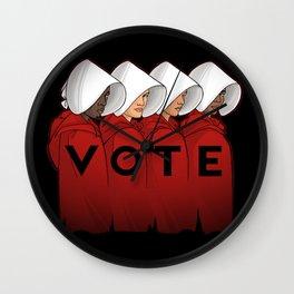 Handmaids Vote Wall Clock