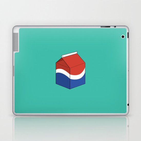 Pepsi in a box Laptop & iPad Skin