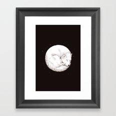 The Howl of the Moon Framed Art Print