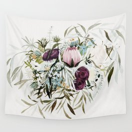 Rustic and Free Bouquet Wall Tapestry