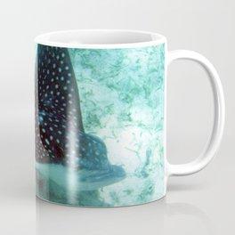 Watercolor Ray, Spotted Eagle Ray 36, St John, USVI Coffee Mug