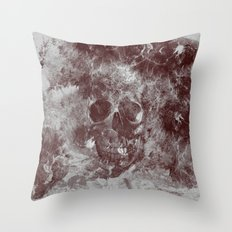 SKULL#03 Throw Pillow