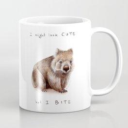 I might look cute, but I bite Coffee Mug