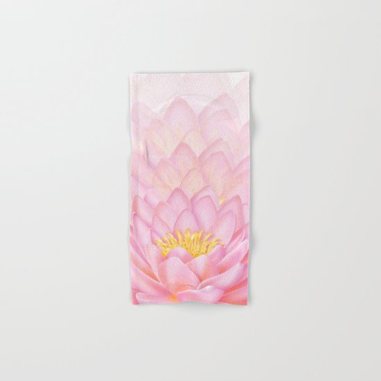 Pink Lotus Hand & Bath Towel
