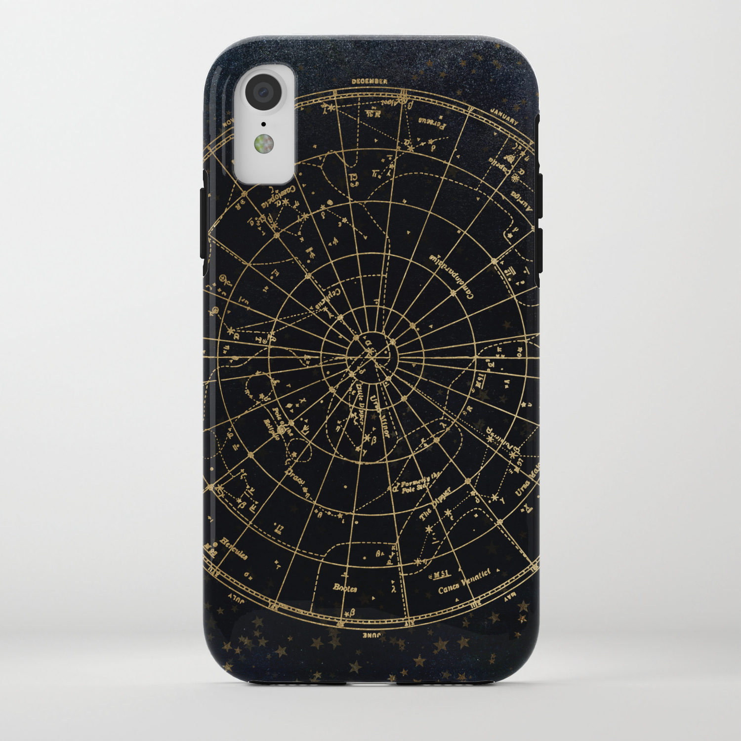cheap for discount 63d6a b5aeb Golden Star Map iPhone Case