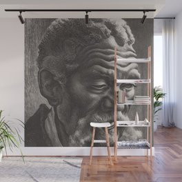 Classical Masterpiece 'Aaron' by Thomas Hart Benton Wall Mural