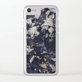thoughts scattered across the stars Clear iPhone Case
