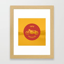 Tokyo Cruisers Framed Art Print