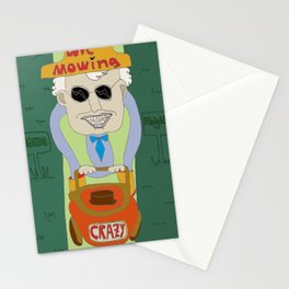 Driving Crazy Stationery Cards