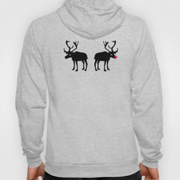 Angry Animals: Rudolph & Prancer Hoody