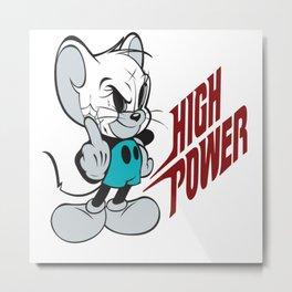 HighPower Metal Print