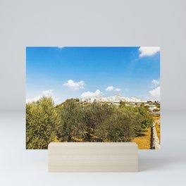 Panoramic view of Locorotondo Mini Art Print