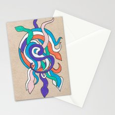 snake knot Stationery Cards
