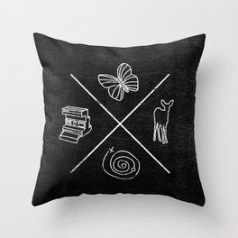 Life is Strange symbols Throw Pillow