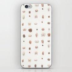 butts iPhone & iPod Skin