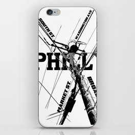 Philly Utility iPhone Skin