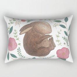 Sleeping Bunny Rectangular Pillow