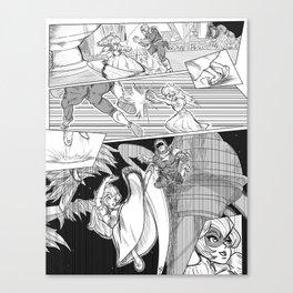 Anticipation : [Princess Peach] Canvas Print