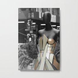 Street Runway Metal Print