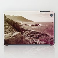 west coast iPad Cases featuring california west coast by Li-Bro