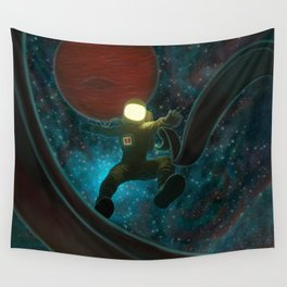 Cosmonaut: Untethered Wall Tapestry