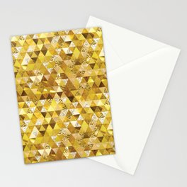 As Gold as it Gets Patttern Stationery Cards