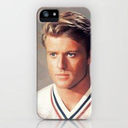 Robert Redford, Actor iPhone Case