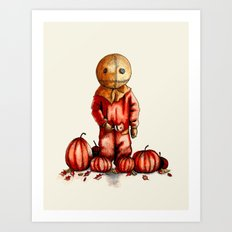 Trick R Treat Sam Art Print