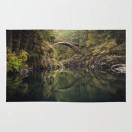 Moulton Falls Bridge Rug