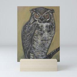 Great Horned Owl Mini Art Print