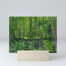 Vincent Van Gogh Trees & Underwood Mini Art Print