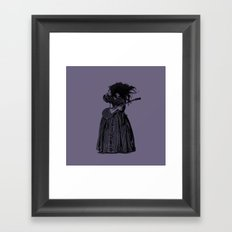 lilly page Framed Art Print