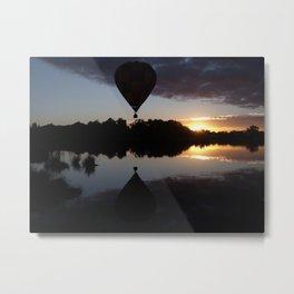 Balloon Reflection Metal Print