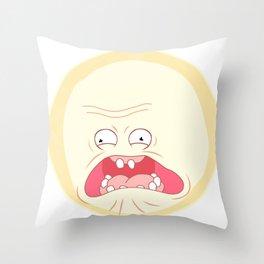 Sun Scream Throw Pillow