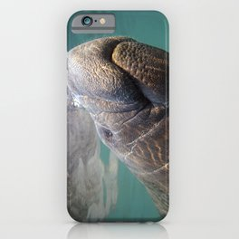 I Heart Manatees iPhone Case