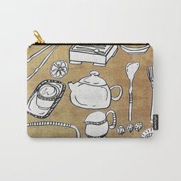 Chinese Tea Doodle 1 Carry-All Pouch