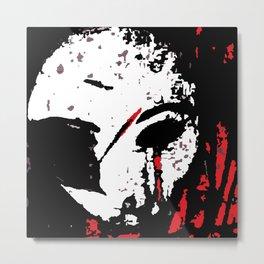 BrokenMask Metal Print