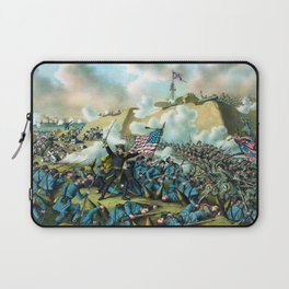 The Capture of Fort Fisher -- Civil War Laptop Sleeve