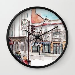 Montreal, Parc at Laurier Wall Clock