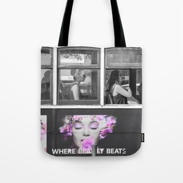 Where beauty beats Tote Bag