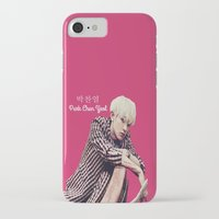 exo iPhone & iPod Cases featuring EXO Chanyeol Love Me Right by Korean Zombie